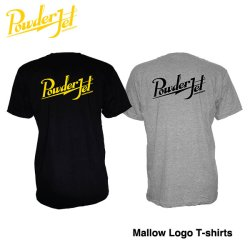画像1: POWDER JET 「Mallow logo」 T-shirts