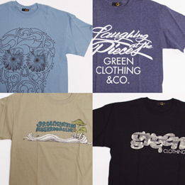 GREEN CLOTHING 2011 SUMMER TEE 入荷!